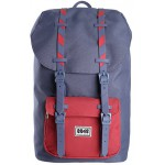 8848 TRAVEL BACKPACK UNISEX WATERPROOF BLUE/RED - (6957384604925)
