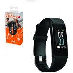 ACME ACT304 FITNESS ACTIVITY TRACKER HR ΜΑΥΡΟ