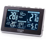ADLER WEATHER STATION BLACK/SILVER - (AD1175)