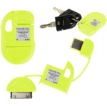 APPLE IPHONE 4G/4S USB ΦΟΡΤΙΣΤΗΣ-DATA ΜΠΡΕΛΟΚ VCD-04 YELLOW VL