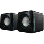 AUDIOBOX U-CUBE USB POWERED 2.O SPEAKERS B. BLUE