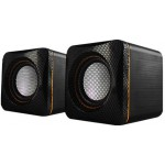 AUDIOBOX U-CUBE USB POWERED 2.O SPEAKERS B. YELLOW