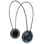 CRYPTO HEADPHONE HP-100 BLACK/BLUE ON-EAR CLOSE - (W005962)