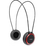 CRYPTO HEADPHONE HP-100 BLACK/RED ON-EAR CLOSE - (W005963)