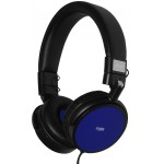 CRYPTO HEADPHONE HP-150 BLACK/BLUE ON-EAR CLOSE - (W005965)