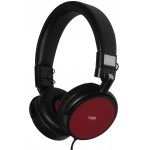 CRYPTO HEADPHONE HP-150 BLACK/RED ON-EAR CLOSE - (W006062)