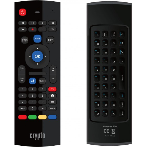 CRYPTO WIRELESS REMOTE CONTROL AIRMOUSE 200 - (W007044)
