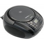 CRYSTAL AUDIO CD/MP3/FM PLAYER BLACK - (BMB1K)
