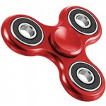ESPERANZA ANTI-STRESS TOY HAND SPINNER ELEKTRO RED - (9501299937525)