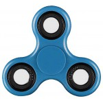 FIDGET SPINNER ABS PLASTIC 3 LEAVES ΜΠΛΕ 2.5 MIN OEM