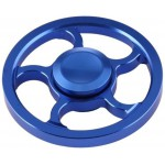 FIDGET SPINNER ALUMINUM WIND WHEEL ALLOY ΜΠΛΕ 3 MIN