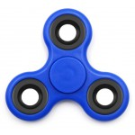 FIDGET SPINNER FS-006, PLASTIC, 3 LEAVES, BLUE, 1 MINUTE