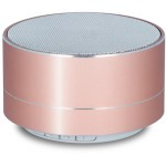 FOREVER BLUETOOTH SPEAKER PBS-100 PORTABLE, FM RADIO, MICROSD, ROSE GOLD - (PBS-100-RG)