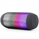 GEMBIRD BLUETOOTH SPEAKER WITH LED LIGHT EFFECTS BLACK - (SPK-BT-05)