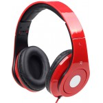 GEMBIRD FOLDING STEREO HEADPHONES DETROIT RED - (MHS-DTW-R)