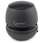 GEMBIRD PORTABLE SPEAKER BLACK - (8716309077354)