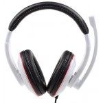 GEMBIRD STEREO HEADSET GLOSSY WHITE MHS-001-GW - (8716309079501)