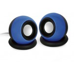 GEMBIRD STEREO SPEAKER SPHERE 3,5MM JACK BLACK BLUE - (8716309089722)