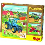 HABA PUZZLES TRACTOR AND CO.24ΤΕΜ