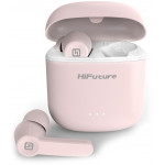 HIFUTURE EARPHONES FLYBUDS TRUE WIRELESS ΜΕ ΘΗΚΗ ΦΟΡΤΙΣΗΣ ΡΟΖ - (FLYBUDS-PK)