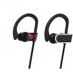 HOCO ES7 STROKE & EMBRACING WIRELESS HANDS FREE SPORTING EARPHONES ΜΑΥΡΑ