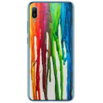 INOS ΘΗΚΗ TPU ΓΙΑ HUAWEI Y6 2019 ART THEME VERTICAL WATERCOLOR - (5205598125646)