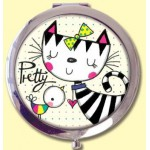 ΚΑΘΡΕΦΤΑΚΙ ΤΣΕΠΗΣ R.E.D. JLMIR1 COMPACT MIRROR - PRETTY CAT & BIRD