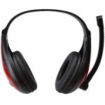 KOMC USB HEADPHONES B19 ΜΑΥΡΑ