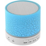 LAMTECH BLUETOOTH SPEAKER LED LIGHT WITH FM BLUE - (LAM020243)