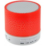 LAMTECH BLUETOOTH SPEAKER LED LIGHT WITH FM RED - (LAM020250)