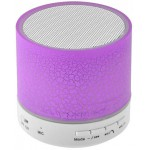 LAMTECH BLUETOOTH SPEAKER LED LIGHT WITH FM VIOLET - (LAM020274)