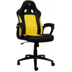 LC-POWER GAMING CHAIR BLACK/YELLOW - (LC-GC-4Y)