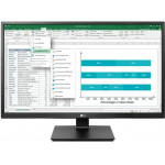 LG Led IPS Professional Monitor 24 with speakers - (24BK550Y-B)