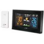 LIFE TUNDRA CURVED WEATHER STATION WITH ADAPTOR & WIRELESS OUTDOOR SENSOR - (221-0120)