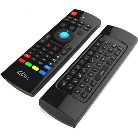 MEDIA-TECH 3 IN 1 AIR MOUSE FOR SMART TV - (MT1422)