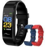 MEDIA-TECH ACTIVE BAND OLED COLOR WITH 2 STRAPS - (MT859)