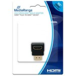 MEDIARANGE HDMI HIGH SPEED ANGLE ADAPTOR BLACK - (MRCS166)