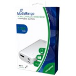 MEDIARANGE MOBILE POWER BANK 5.200MAH WITH BUILT-IN TORCH (MR751)