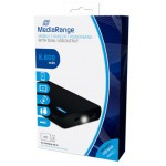 MEDIARANGE MOBILE POWER BANK 8.800MAH WITH DUAL USB OUTPUT - (MR752)