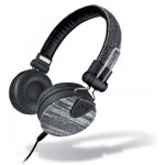MELICONI 497393 MYSOUND SPEAK DENIM BLACK ON-EAR STEREO HEADPHONE (WITH MICROPHO - (8006023232574)