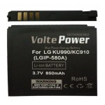 ΜΠΑΤΑΡΙΑ LG KU990/KC910/KM900 850MAH LI-ION(IP-580A)VOLTEPOWER