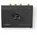 NEDIS ANALOGUE AUDIO SWITCH - (ASWI2404BK)