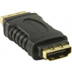NEDIS HDMI ADAPTER FEMALE BLACK - (CVGP34900BK)