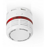 NEDIS SMOKE DETECTOR EN14604 10-YEAR LIFESPAN SMALL DESIGN - (DTCTSL50WT)