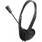 OVLENG 3.5MM HEADPHONES L900MV, MICROPHONE, BLACK - (L900MV)