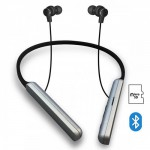 PLATINET BLUETOOTH EARPHONES HOOP WITH MIC BLACK - (PM1074B)