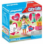 Playmobil Fashion Girl - (70596)