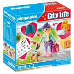 Playmobil Fashion Girl με σκυλάκι - (70595)