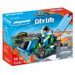 Playmobil Gift Set Οδηγός με Go-Kart - (70292)