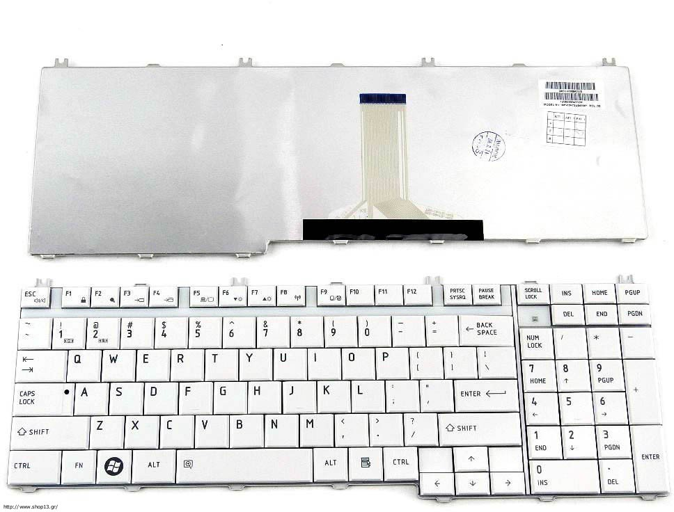 for Toshiba Satellite P205D-S7438 P205D-S7439 US keyboard